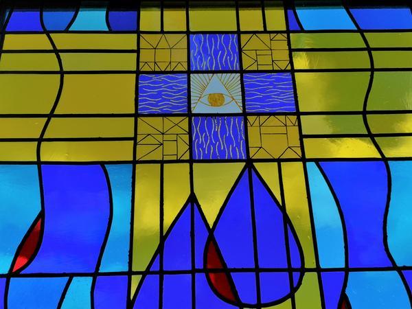 Kirchenfenster Apostel Johannes-Kirche